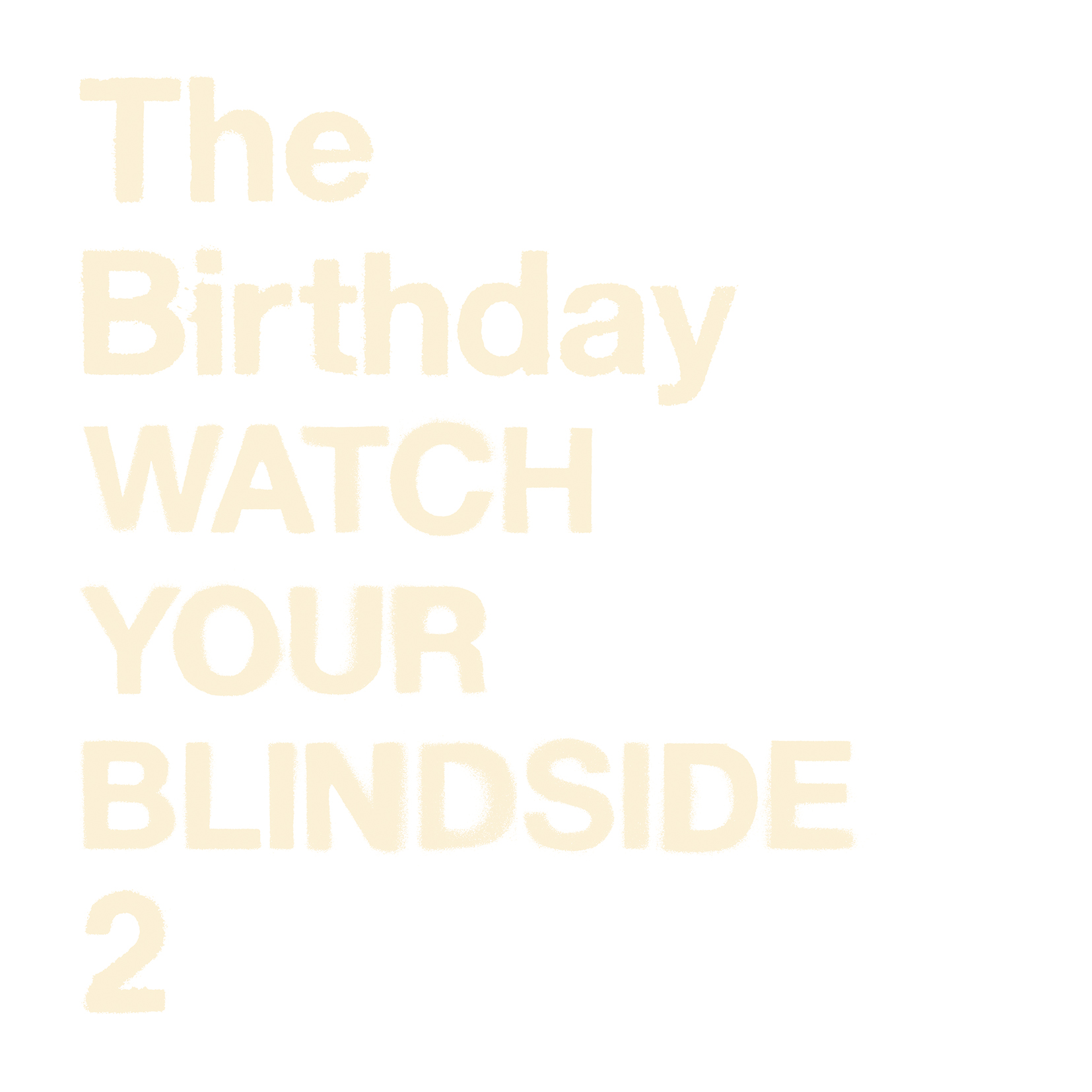The Birthday 「WATCH YOUR BLIND SIDE 2」