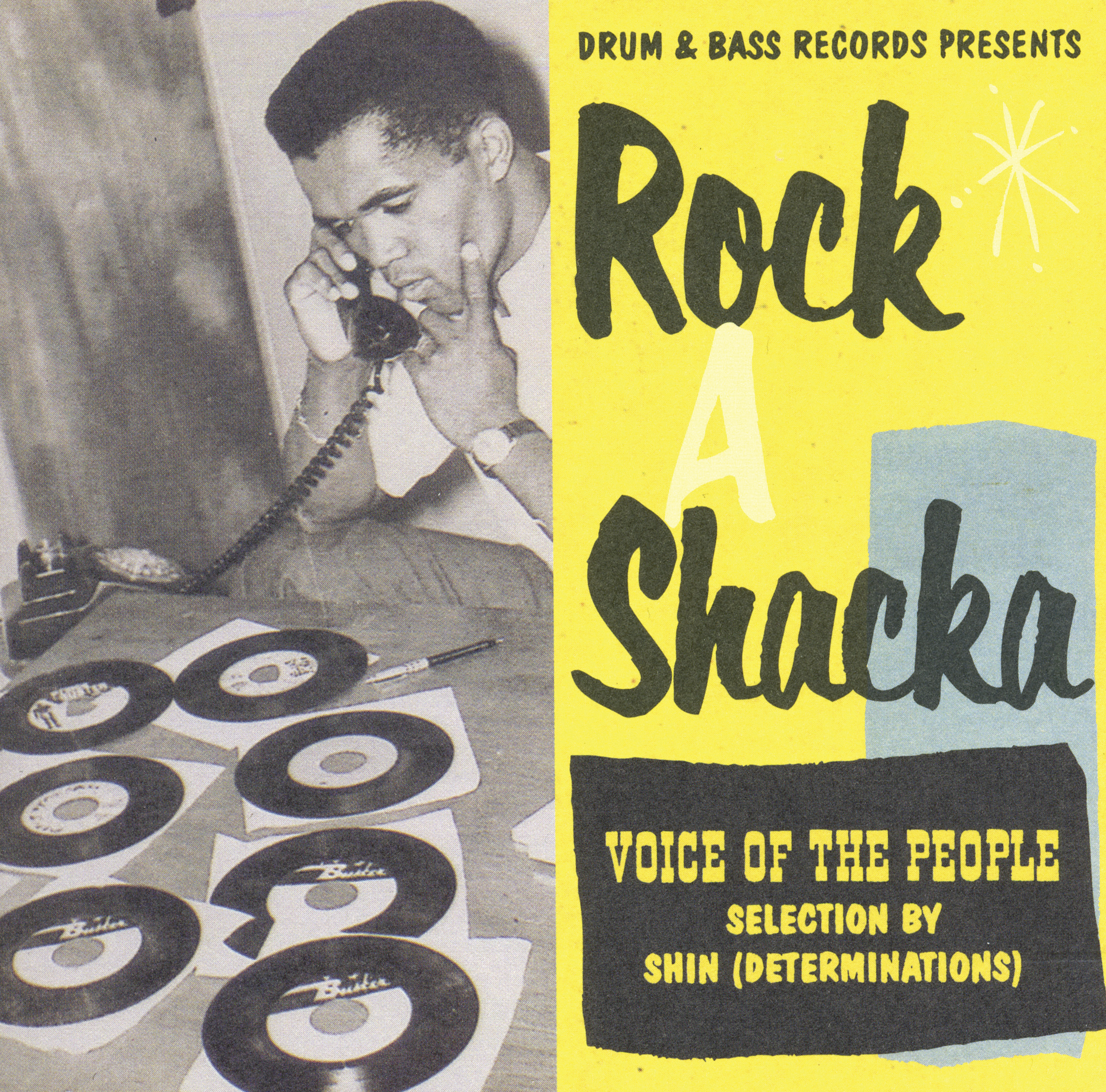 V.A. 「ROCK A SHACKA」